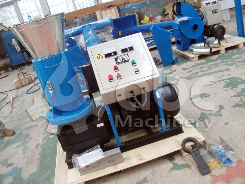 300R coir pith pellet machine for sale at low price