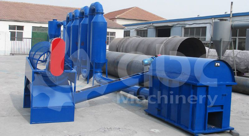 air flow drying machine for small biomass pellet production plant