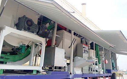 movable feed plant
