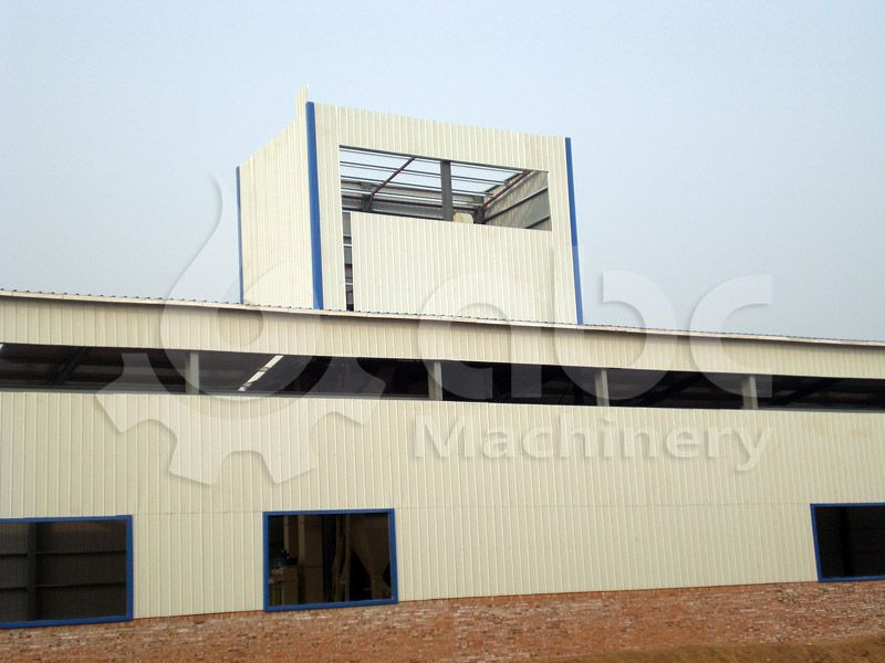 factory layout design and equipment list of feed processing plant