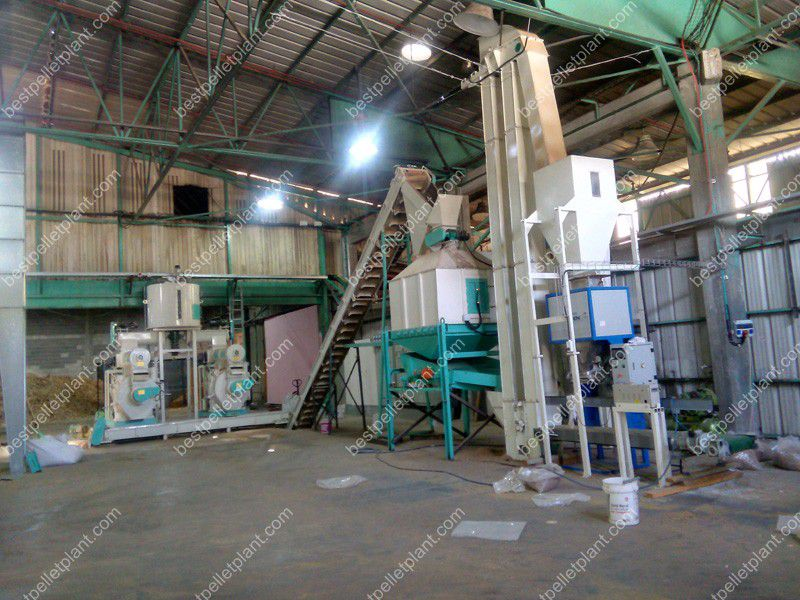 Pine wood pellet plant project in israel ton per hour
