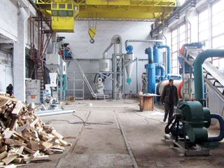 1TPH Biomass Pellet Production Equipment in Bulgaria