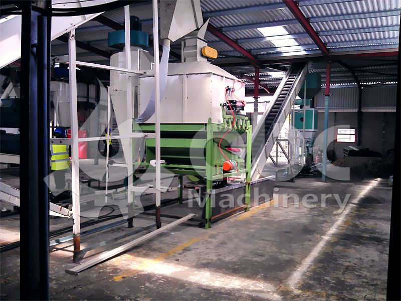 biomass pellet production system - cooling and packaging equipment