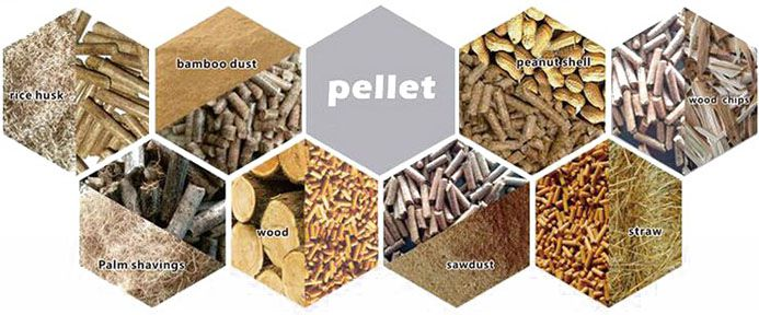 biomass pellets processing