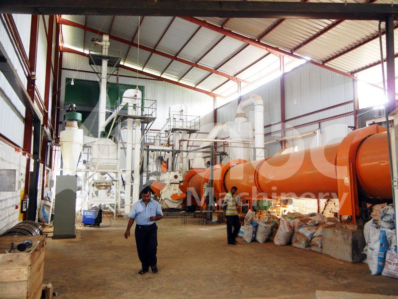 overview of the biomass wood pellet production project