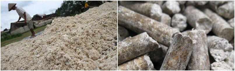 turn cassava wastes, residues into pellets