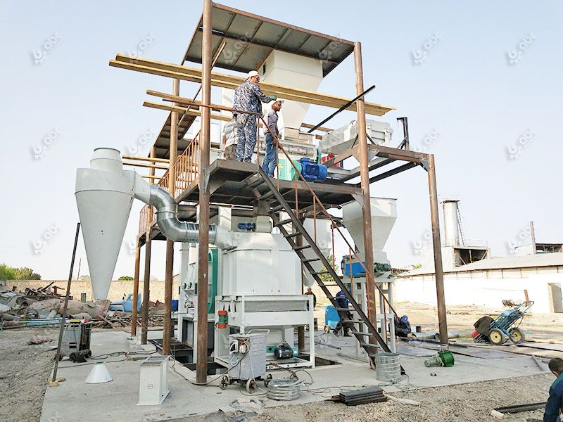 cattle feed making factory for small scale fodder processing