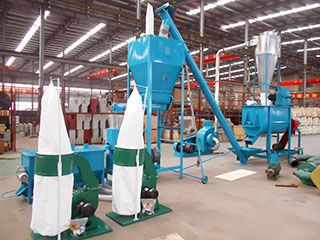 1TPH Cattle Feed Making Machine
