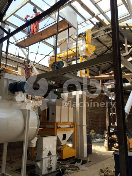 cheap small poultry feed plant equipment for sale