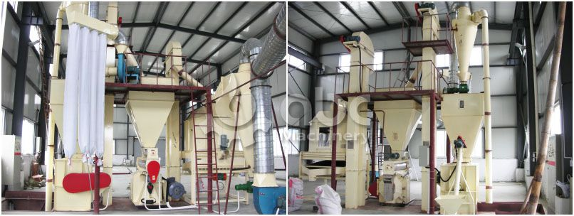 setpu small chicken feed processing mill