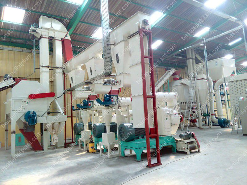 complete wood pellet plant projects