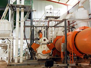 2TPH Complete Wood Pellet Production Line in Sri Lanka
