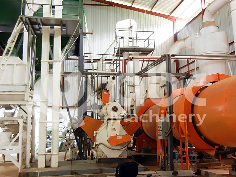 complete wood pellets production line for small scale business plan
