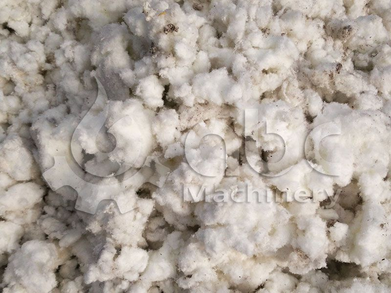 cotton paper wastes for making pellets