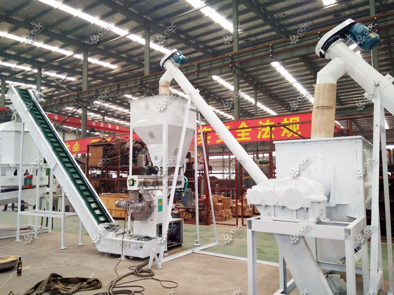 fodder processing equipment for cow feed making production line