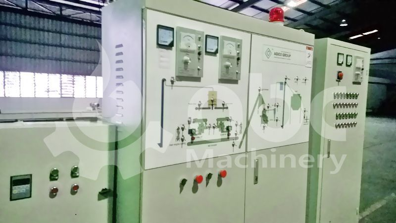 electric carbinet group of the complete biomass energy processing plant