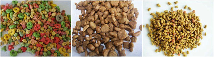 pet food manufactured by fish and pet food making machine