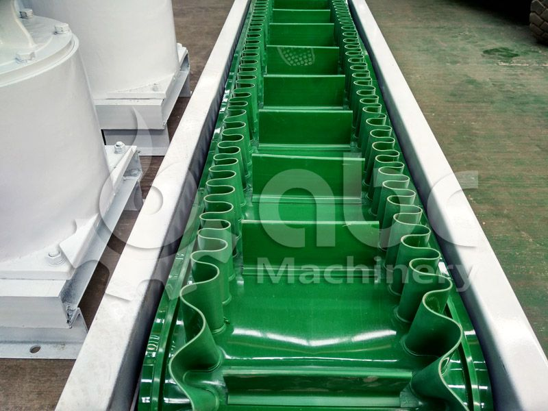 details of the feed conveyor