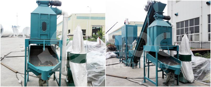 feed pellets cooling machine of mini feed processing plant