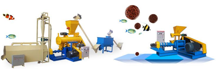 floating fish feed making machine for small to medium scale production