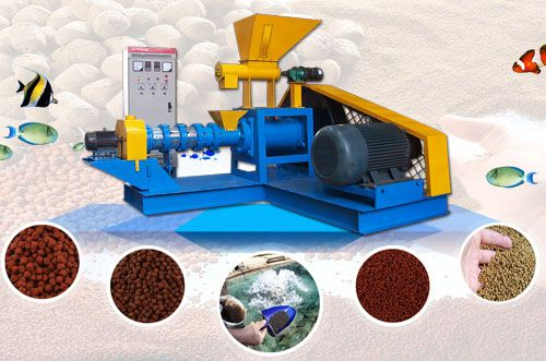 feed pellet production line for fish and pet