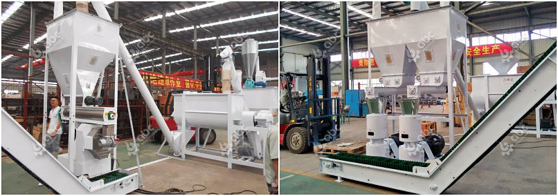 flat die vs ring die pellet mill for manfuacturing cattle feed