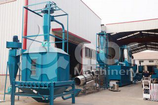 Floating fish Feed Pellet Machine ordered by American Agent