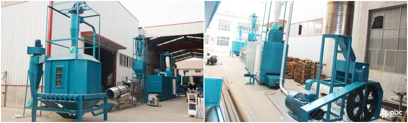 low cost floating fish feed production line