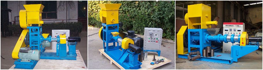floating fish pellet machine for complete fish pellet making plant