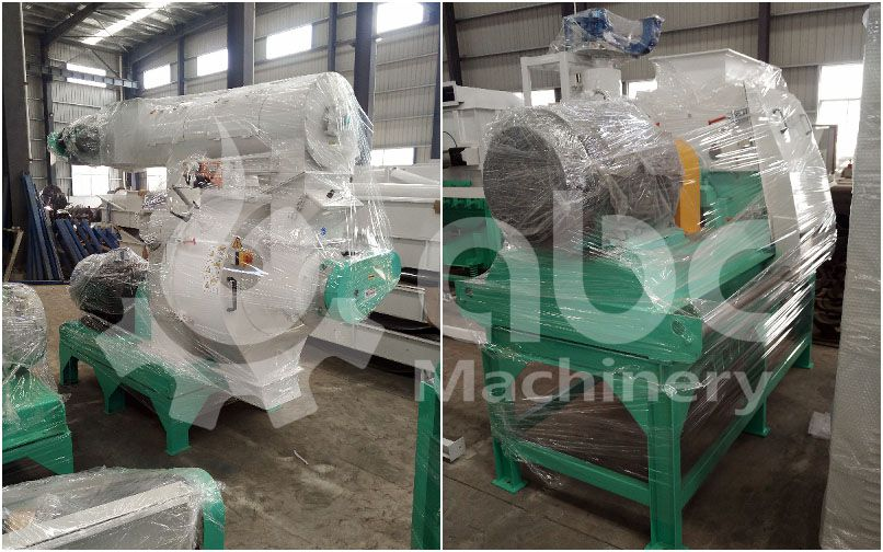 grass pellet mill and crusher for complete bioenergy crops pelletizing business