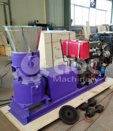 hard wood pelletizer for small production factory
