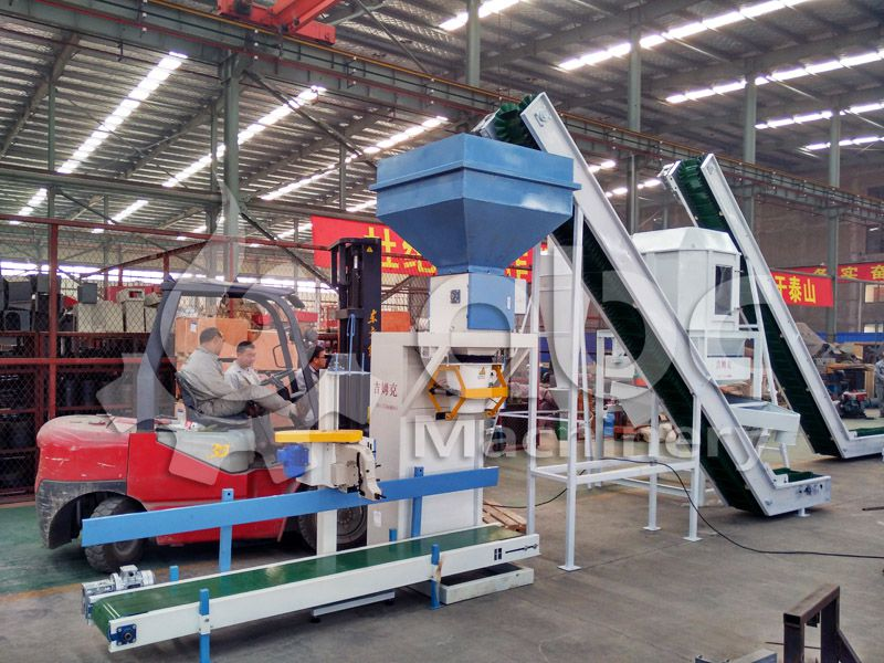 livestock and cattle feed pellets packaging machine