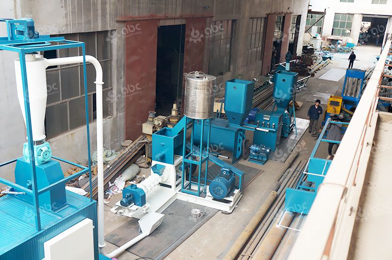 Low Cost Sinking Feed Pellet Production Line