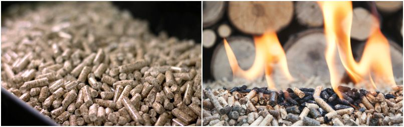 make biomass pellets from wheat straw