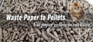 [Trial Run] Cotton Paper Pellet Machine