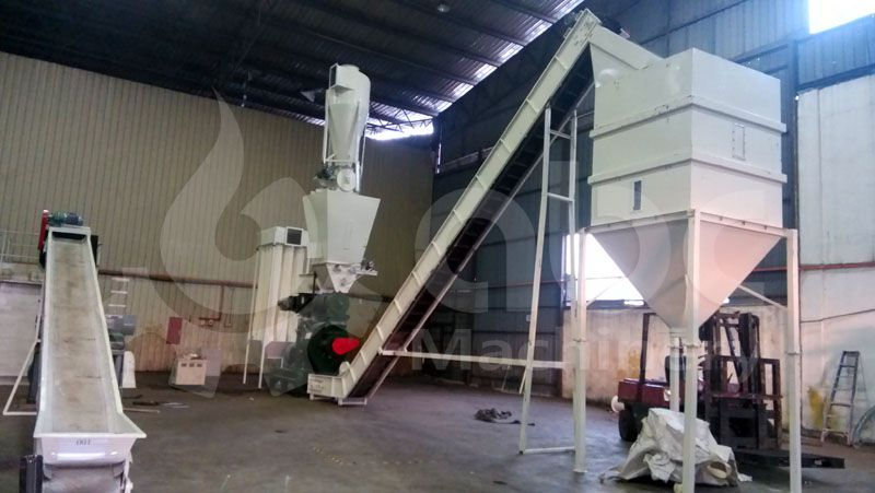 palm fiber pellet plant cost for set up a factory