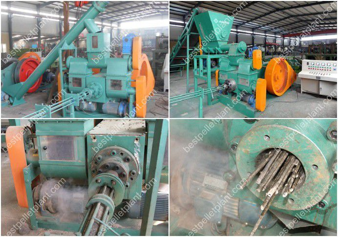 pellet briquette machine
