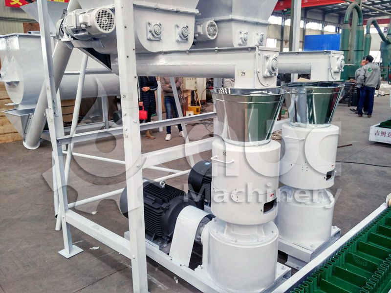 pelleted feed making machine for cattle, sheep, horse, goat