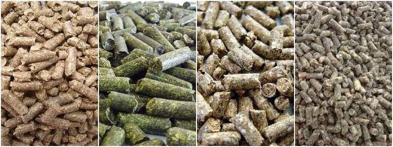pelleted feed pellets for cattle, cow, sheep, goat, horse and other livestock