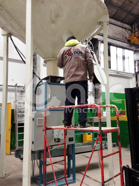 biomass pellets packaging equipment debugging