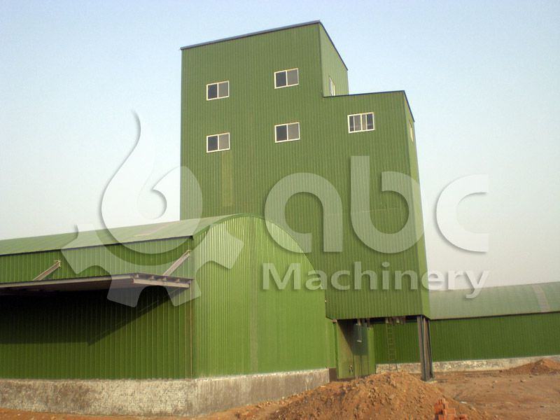 build a complete poultry feed mill plant for processind chicken feed