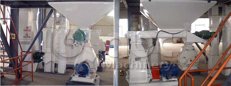 poultry feed plant crushing machine - designed for complete feed production