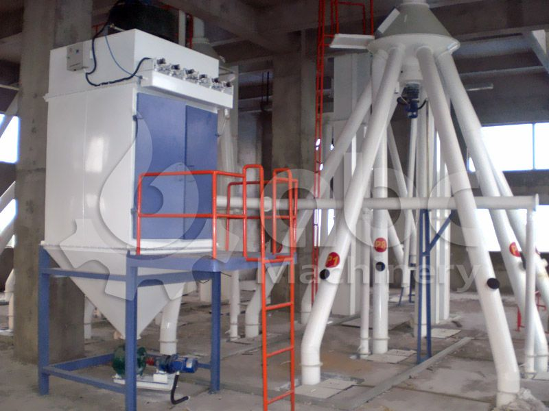 cheap poultry feed production machinery for turnkey project