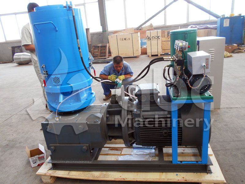 recycle paper pellet mill for making cat litter pellets
