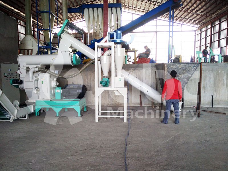 ring die grass pellet machine included in the production line