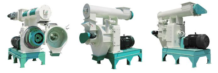 ring die wood pelleting machine