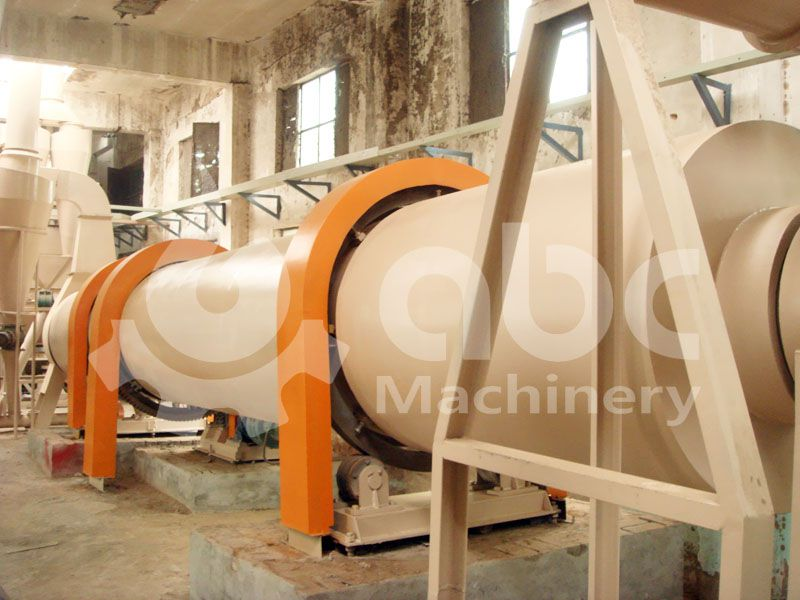 sawdust drying facility for complete wood pellet line