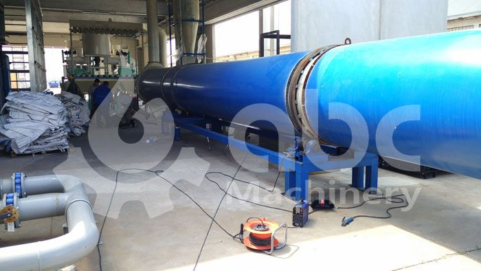 sawdust drying machine for large scale pellet producing factory