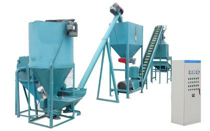 small scale feed pellet plant