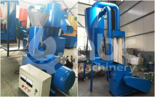 Biomass Pelletizer for Rice Husks Exported to France
